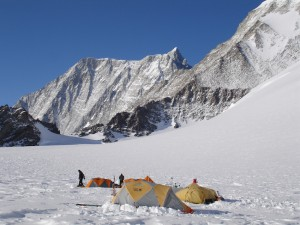 Low Camp on Mt. Vinson