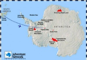 Traveling to Patriot Hills (Union Glacier), Antarctica from Punta Arenas, South America