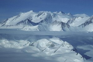 The beautiful Vinson Massif