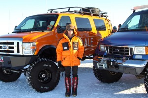 Me and the awesome ANI vehicles - I need one of these around Vail