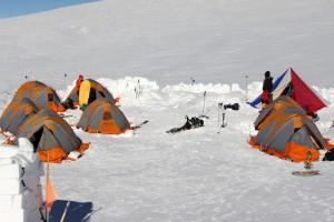 High Camp (13,200')