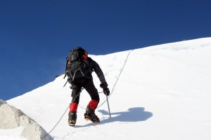 Kristine's final steps to completing the 7 Summits