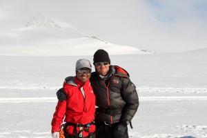 Me & Namyga Sherpa
