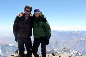 Aconcagua north summit (22,841') - January 9, 2013 at 11:15am