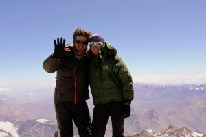Our 6th of the 7 summits together!