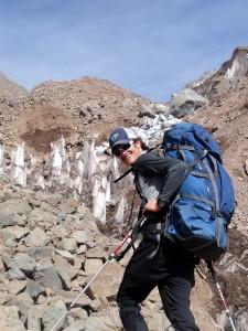 Brandon en route to camp 1