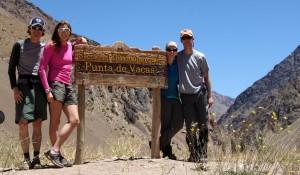 The Vacas Valley trailhead