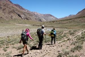 The long, never-ending 8.5 mile day to Casa de Piedra