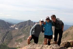 Keller Mountain summit (13,085')