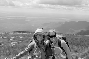 Mother & daughter on Maine's highest peak