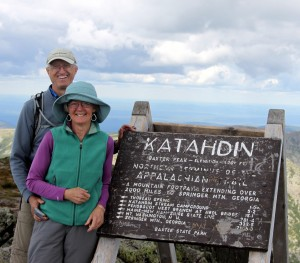 Ken & Dianne on top of Maine