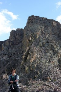 Me at the start of the most southern Zodiac Spire, Cancer