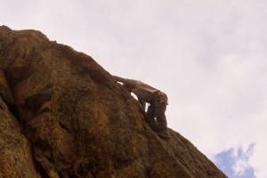J climbing Scorpio