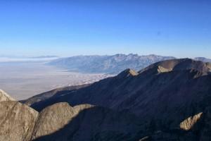 Northern Sangre de Cristos with Crestone Peak & Crestone Needle visible above the Great Sand Dunes