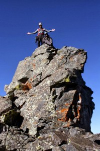 J & I had to climb it though