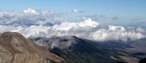 Looking north from Blanca's summit