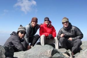Blanca Peak summit (14,345')