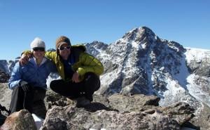 Brandon and I on Notch Mountain Summit 13,237 ft.