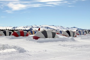 Union Glacier and our little clam tents we unfortunately only spent one night in before flying to Vinson