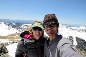 Kristine & I on top of New Mexico
