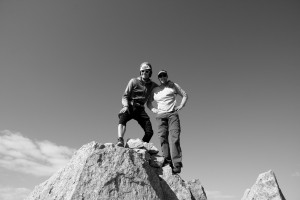 J and I on the summit of Peak L (13,213')