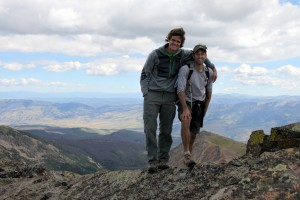Summit of Palomino Point (13,040'): the western terminus of Asgard Ridge