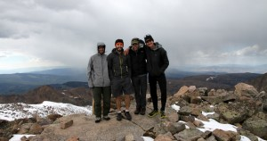 Mt. Powell summit (13,580')