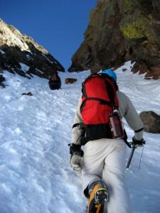 A good snow climb