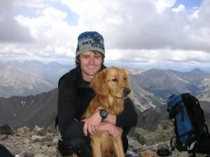 La Plata Peak summit (August 2004)