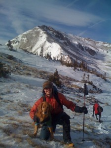 Mt. Yale's east ridge climb in winter of 2010