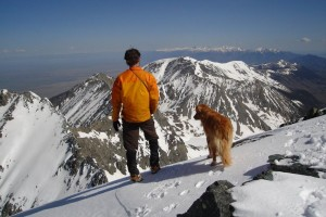 Me & Rainier on the summit of Blanca Peak (Memorial Day weekend 2007)