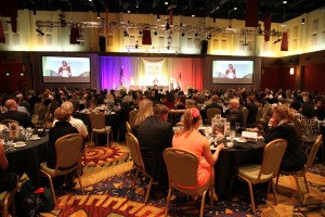 The 2015 Sportswomen of Colorado awards banquet at the Denver Marriot Tech Center