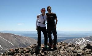 Mosquito Peak summit (13,781')