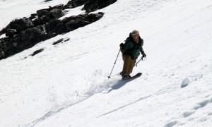 Telemark master Josh