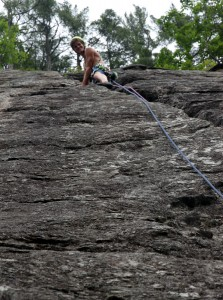 Upper pitch of Charlotte's Crack