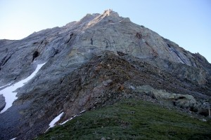 The Northwest Buttress from Capitol Pass