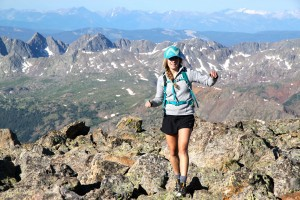 Kelsey on her 1st 14er summit!