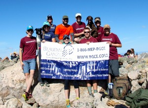 BGCE on the summit of Mt. of the Holy Cross (14,005')