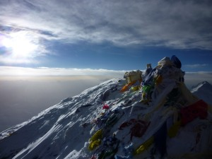 Everest summit pic we took that morning 6 years ago on May 25