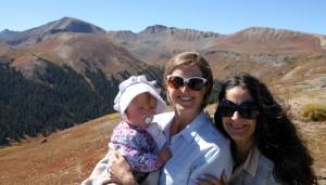Top of Independence Pass (12,100')