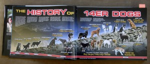 The History of 14er Dogs section. Can you spot Rainie?
