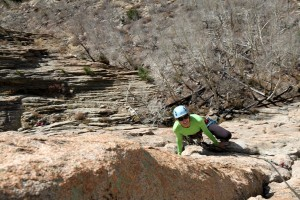 Kristine switching cracks and having a great time on pitch 2