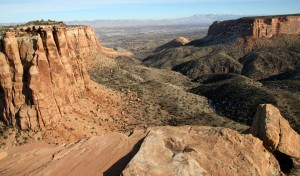 Gorgeous Monument Canyon from the summit