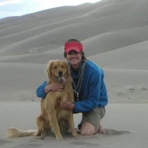 Me & Rainie at the Sand Dunes a long time ago