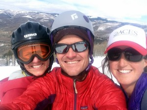 Logan, me, & Kristine at the top of Arrowhead