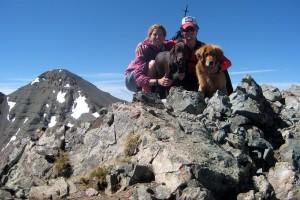 Conundrum Peak summit (14,060')