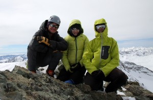 Conundrum Peak summit (14,060'). March 5, 2016