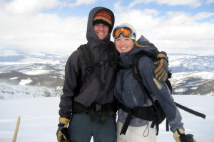 New York Mtn summit (12,550') in March 2008