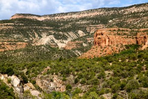 Gorgeous Escalante Canyon from our campsite