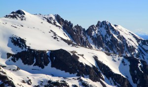 Gorgeous view of Red Diamond Ridge. J and I traversed this ridge last summer